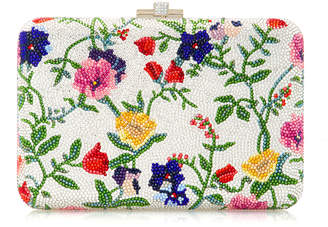 Judith Leiber Couture Slim Slide Morning Glory Clutch