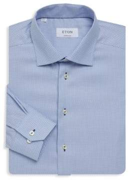Eton Contemporary-Fit Diamond Print Dress Shirt