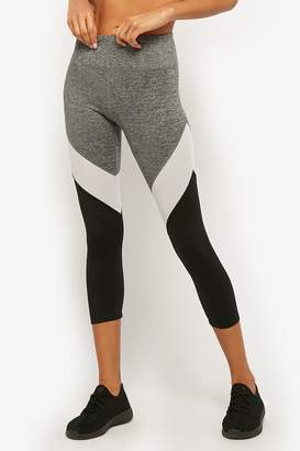 Forever 21 Active Mesh Panel Capri Leggings