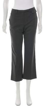 Cartier Pinstripe Mid-Rise Pants