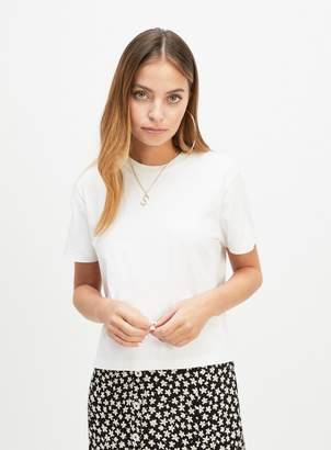 Miss Selfridge PETITE White T-Shirt