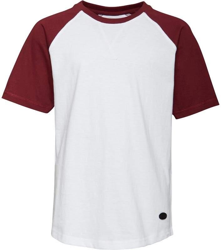 Fluid Jungen Raglan T-Shirt Weiß