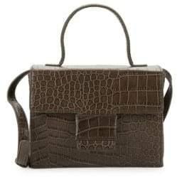 Steven Alan Classic Embossed Leather Crossbody Bag