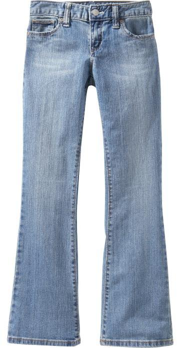 Old Navy Girls Vintage Boot-Cut Jeans