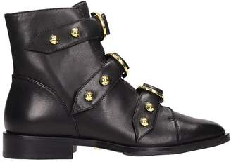 Kat Maconie Elsie Nappa Leather Ankle Boots