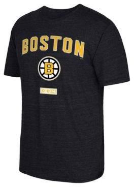 Reebok Boston Bruins Stitches Needed Tri-Blend T-Shirt