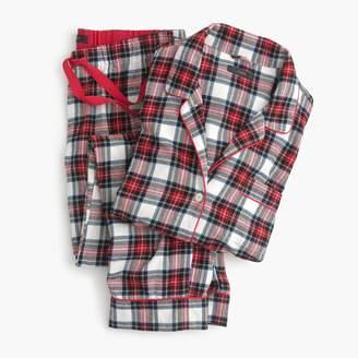 J.Crew Flannel pajama set in tartan plaid