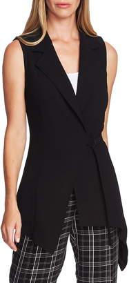 Vince Camuto Asymmetrical Wrap Vest