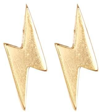 Lightning Bolt GILDED BY KATIE DIAMOND Stud Earrings