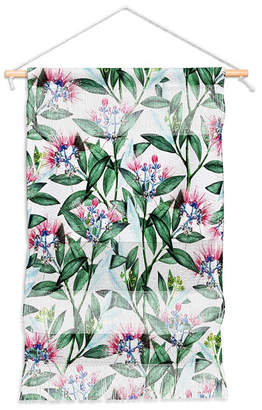 """Deny Designs 83 Oranges Floral Cure One Wall Hanging Portrait, 11""""x16"""""""