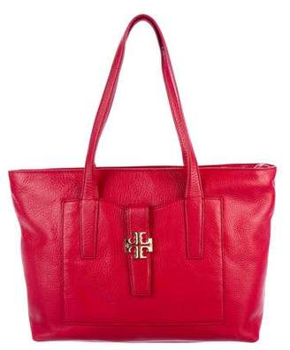 Tory Burch Leather Ivy Tote