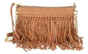 Rebecca Minkoff Stevie Leather Fringe Crossbody Bag