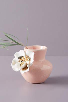 Anthropologie Ceramic Bloom Vase