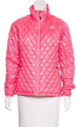 The North Face Quilted Zip-Up Jacket