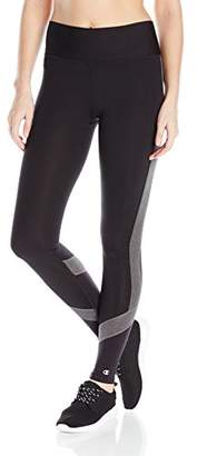Champion Women's Absolute Colorblock Legging with SmoothTec Waistband $23.21 thestylecure.com
