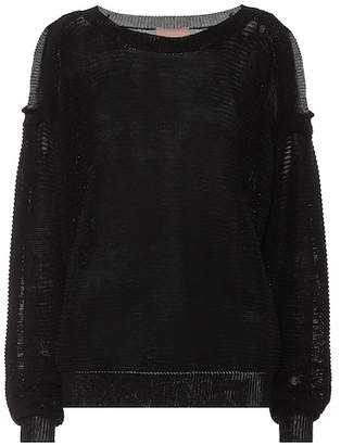 81 Hours 81hours Fabienne cotton-blend sweater