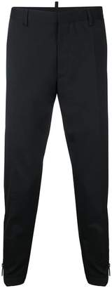 DSQUARED2 zipped cuff trousers