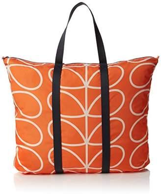 Orla Kiely Women s Giant Linear Stem Foldaway Travel Bag Totes Luggage,(W x  H 7e98285d0d