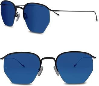 Smoke X Mirrors Geo I 51mm Semi Rimless Sunglasses