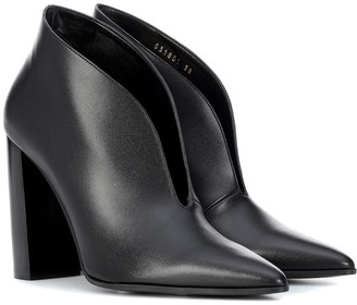 Stella McCartney High vamp ankle boots