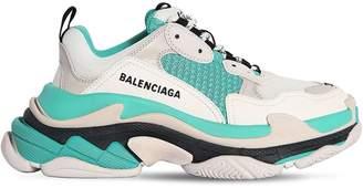 Balenciaga 60MM TRIPLE S AIR MESH & LEATHER SNEAKER