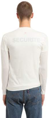 Vetements Hanes Securite Jersey Doubled T-Shirt