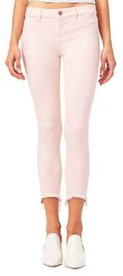 DL Florence Crop Mid-Rise Skinny Jeans