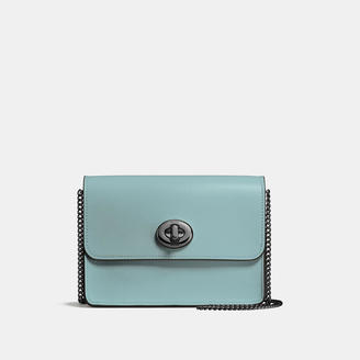 COACH Coach Bowery Crossbody In Refined Calf Leather $250 thestylecure.com
