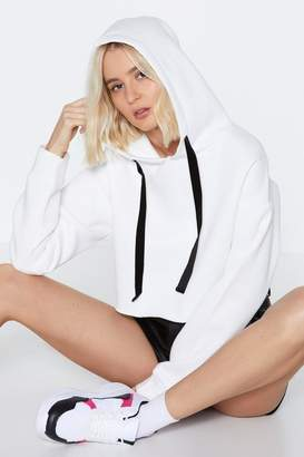 Nasty Gal You've Got the Edge Cropped Hoodie