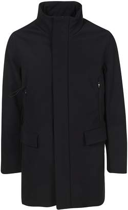 Rrd Roberto Ricci Design Rrd - Roberto Ricci Design Concealed Front Closure Raincoat