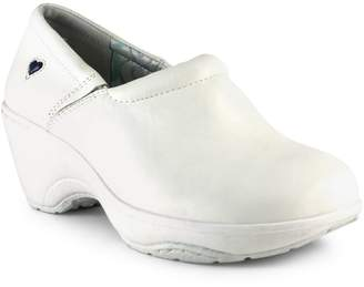 Nurse Mates Bryar Leather Non-Slip Clogs