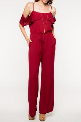 Everly Layered Detail Jumpsuit $64 thestylecure.com
