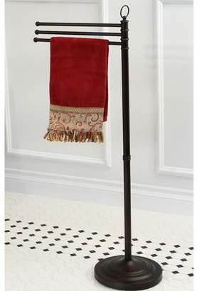 Kingston Brass Pedestal Oil-rubbed Bronze Towel Bar