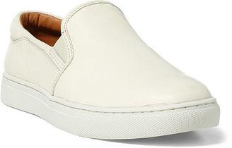 Polo Ralph Lauren Drea Nappa Slip-On Sneaker $148 thestylecure.com