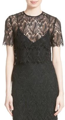 Women's Diane Von Furstenberg Lace Shell $328 thestylecure.com