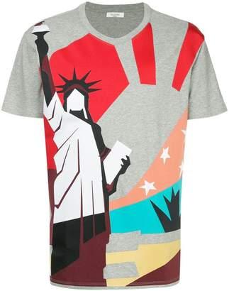 Valentino New York print T-shirt