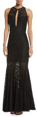 Milly Joan Sleeveless Lace Gown