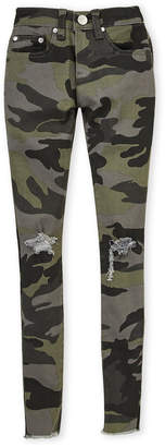 Pinc Premium Girls 7-16) Camouflage Distressed Skinny Jeans