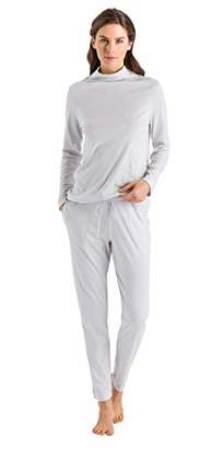 Hanro Women's Liara Long Sleeve Pajama Set