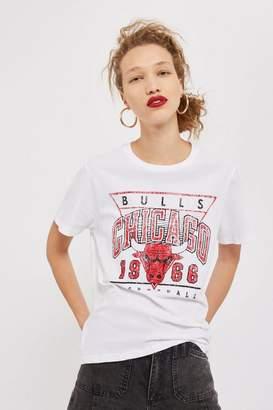 Topshop UNK X 'Bulls Chicago' Slogan T-Shirt by UNK x