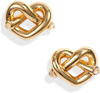 16b0c24d6 Kate Spade Loves Me Knot Stud Earrings