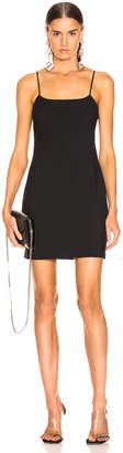 Alexander Wang Washable Wool Mini Dress in Black | FWRD