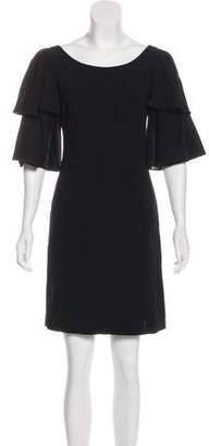 Loeffler Randall Wool Mini Dress