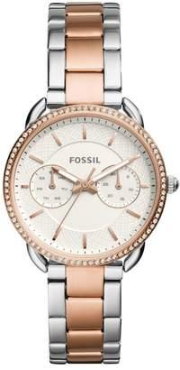 Fossil Women's Tailor Crystal Embellished Bracelet Watch, 35mm