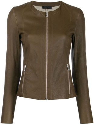 Drome zip up short jacket