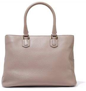 Emporio Armani Pebbled-Leather Tote