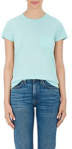 Barneys New York Women's Silk-Cashmere Short-Sleeve Sweater - Mint