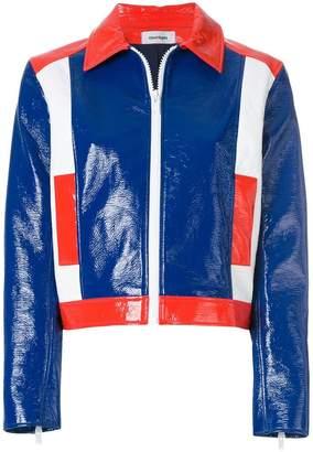 colour block jacket
