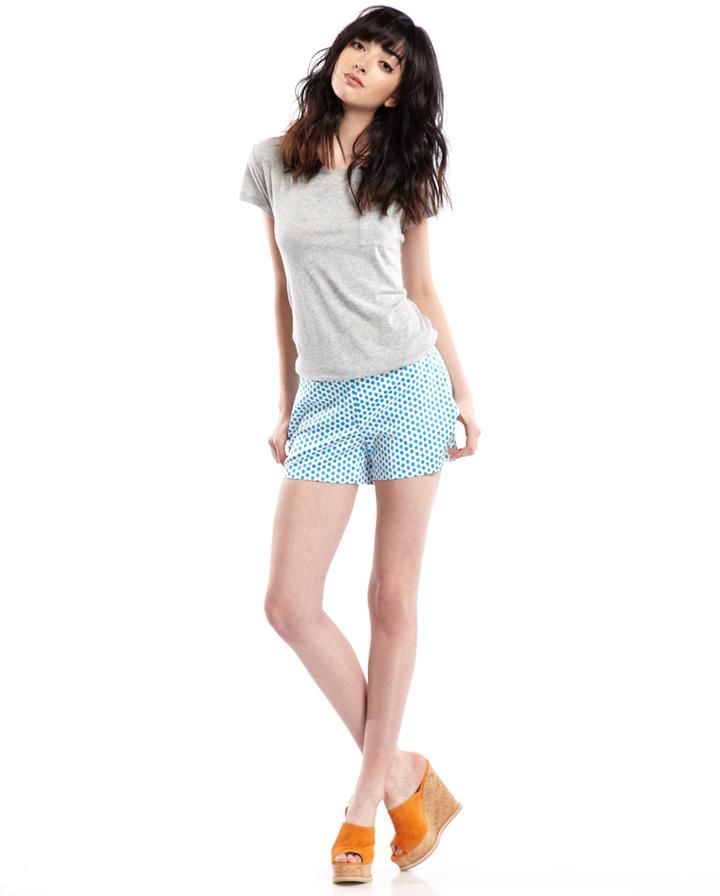 Julie Brown JB by Blue Polka-Dot Shorts