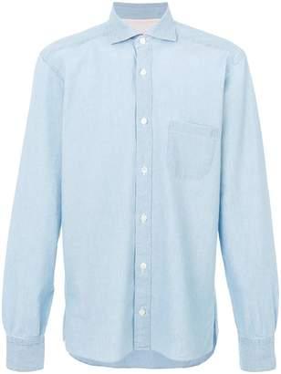 Eleventy patch pocket shirt